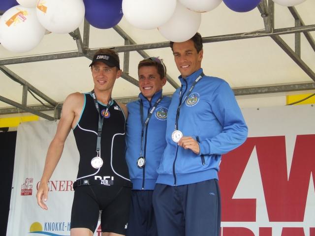 Wedstrijdverslag CISM Triathlon Tournement Knokke 2013