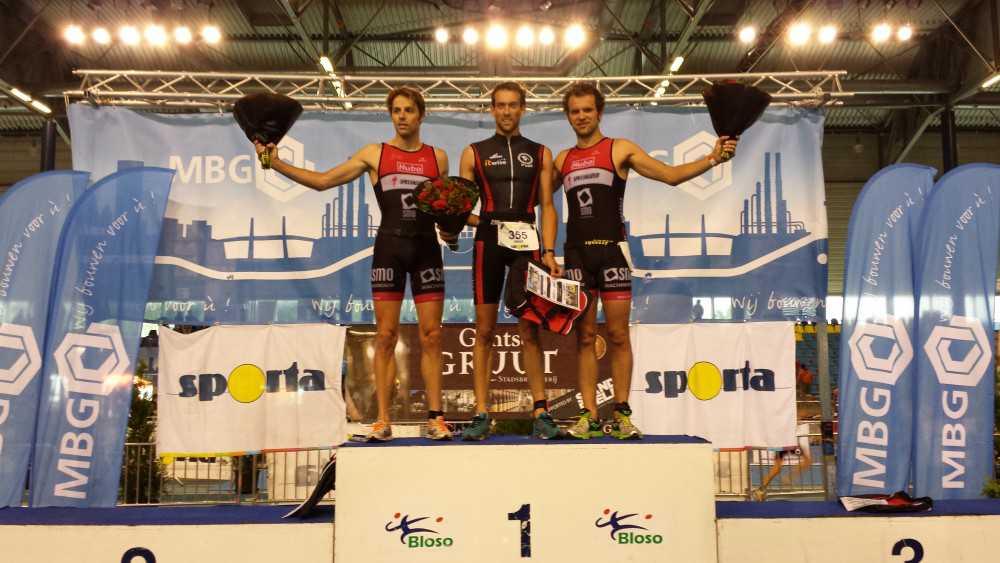 Alexis Krug en Elise Scheerens winnen Sporta Triatlon Gent