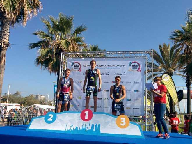 Ruben Verkempinck wint in Barcelona