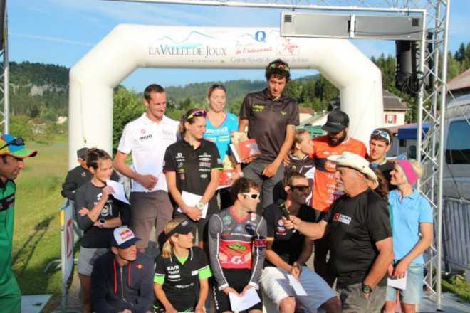 Xterra Suisse podium Kris Yeray