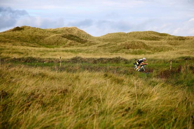 Schitterend fietsparcours bij IM Wales (foto: Getty Images)