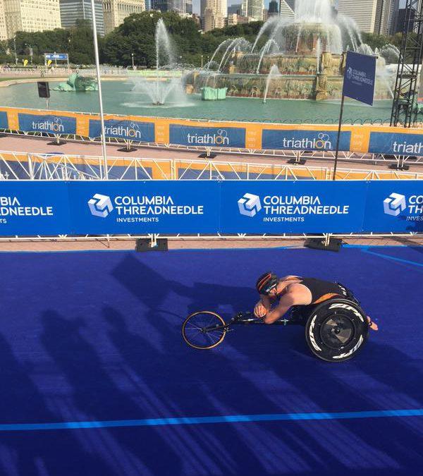 Twee keer brons met dubbel gevoel in WK paratriatlon