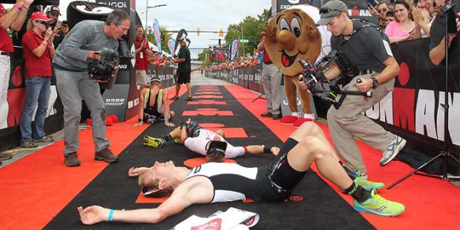Spannendste Ironmanfinish ooit?