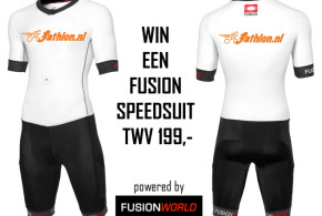 Win je eigen, gepersonaliseerde Fusion Speed Suit