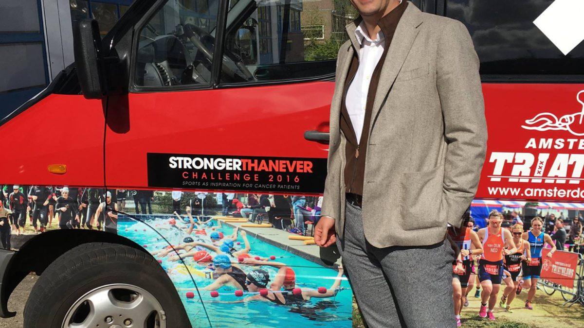 """Alex Strijbos: """"Triatlon is deel van mijn herstel"""""""