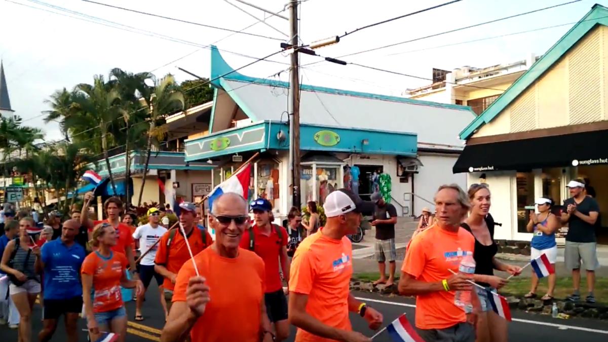 WK Ironman officieel geopend door Nederlanders