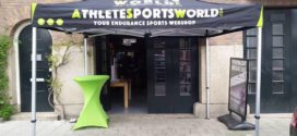 De showroom van AthleteSportsWorld.com in Amsterdam is open