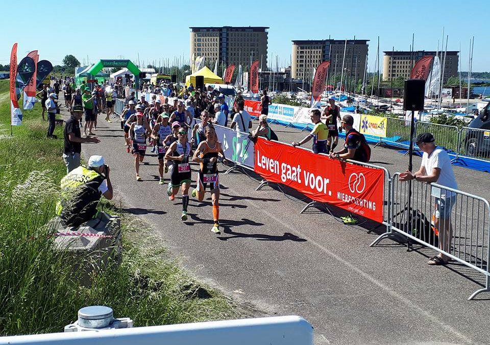 Gouden Wolthuizen verrast wereldkampioen in Almere-Duin