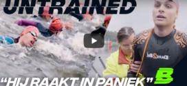 Rijk Hofman deed ongetraind de OD triathlon op de Bosbaas voor het programma Untrained