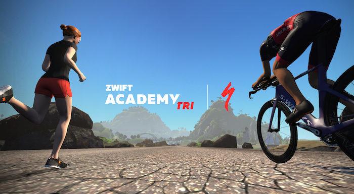 Finishen op Alii Drive via Zwift Academy Tri Team