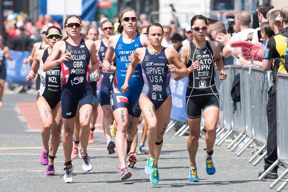 Klamer knap vierde bij ITU World Triathlon Leeds