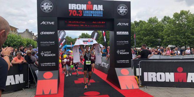 Sven Strijk net naast podium bij Ironman 70.3 Moselle