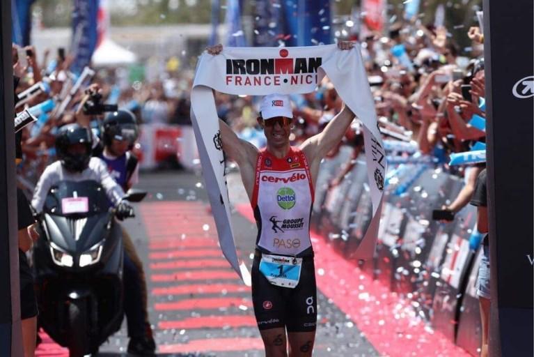 Frederik Van Lierde wint voor de vijfde keer Ironman Nice