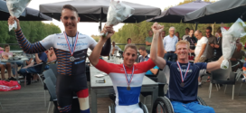 Jetze Plat Nederlands Kampioen Handbike tijdrijden: 'Winnen vind ik het leukste dat er is'