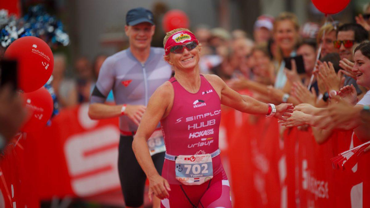 Yvonne van Vlerken pakt zilver bij Challenge Heilbronn