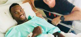 Mhlengi Gwala op weg terug na kettingzaagincident