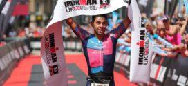 Erik-Simon Strijk zesde bij Ironman UK