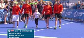 Nederland vijfde bij WK Mixed Team Relay