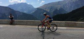 Sophie van der Most vierde bij korte Triathlon Alpe d'Huez