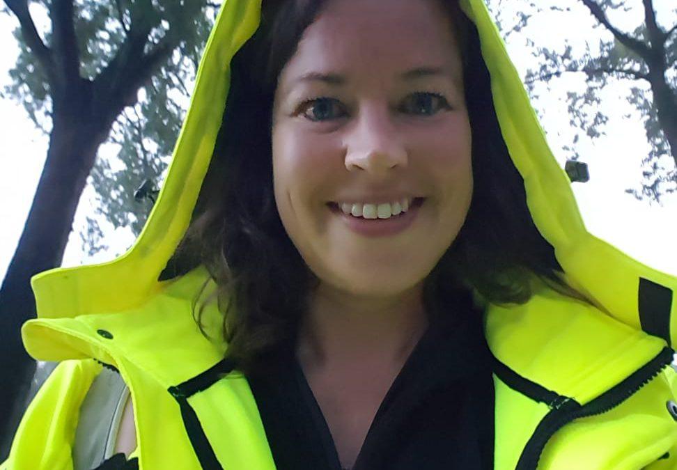 Sanne Goosen: 'Vrijwilliger zijn bij een triathlonevenement is ontzettend dankbaar werk'