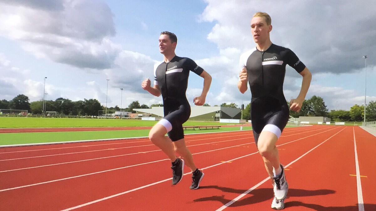 Erik-Simon en Sven Strijk slaan handen ineen: Strijk Brothers Tri Team