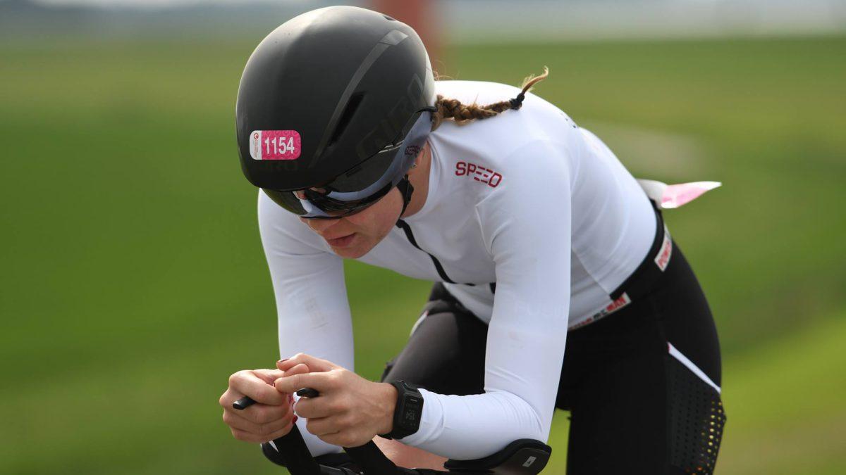 Sharon Zuijdervliet na Challenge Almere-Amsterdam: 'Als Almeerse triatlete is dit een kinderdroom'