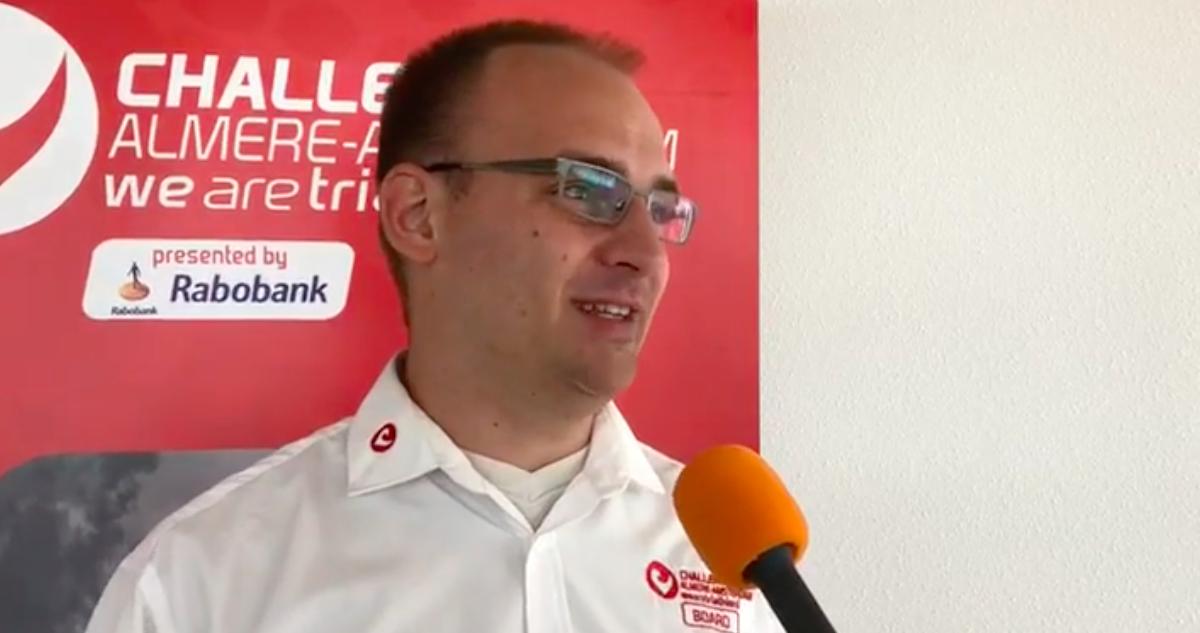 Race director Richard Belderok over Challenge Almere-Amsterdam: 'Hier gebeurt altijd iets speciaals'