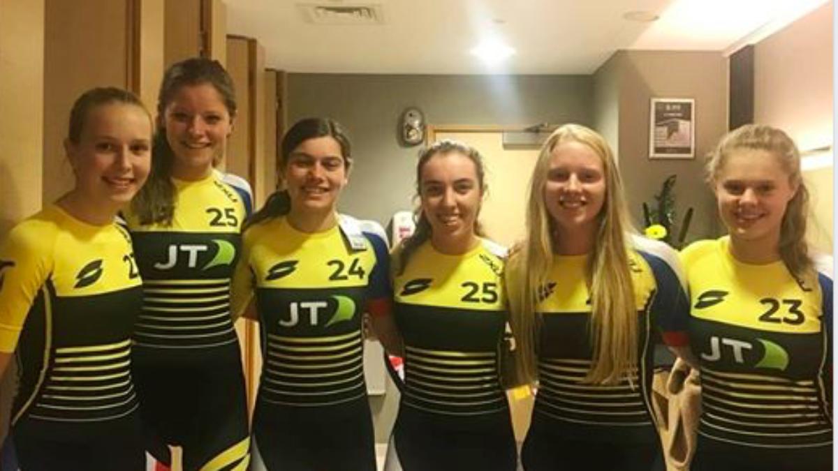 Nederlandse Junioren in actie bij Super League Triathlon, Kim van 't Verlaat breekt sleutelbeen