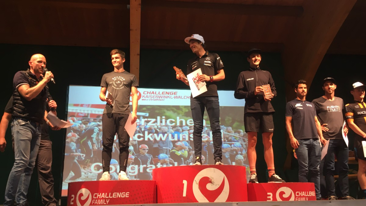 Sebastian Kienle en Eva Wutti winnen Challenge Kaiserwinkl-Walchsee