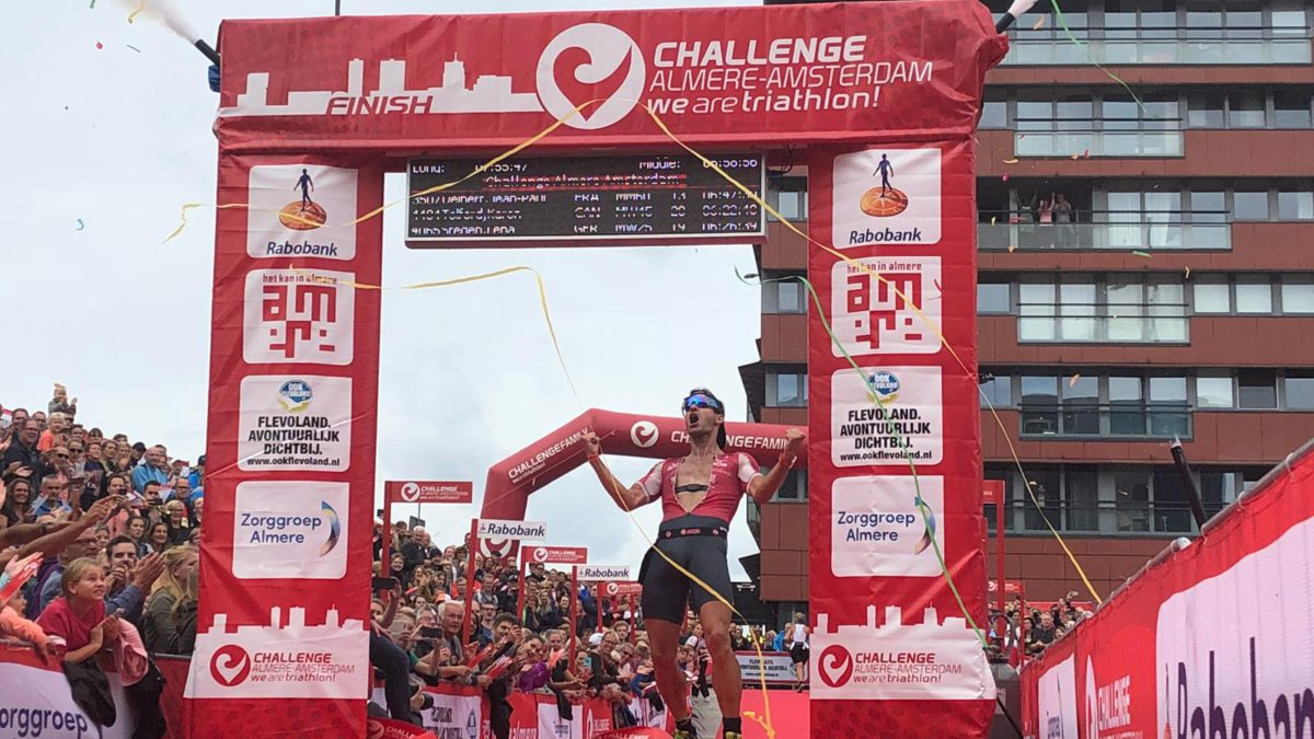 Jaroslav Kovacic breekt race record bij Challenge Almere-Amsterdam, Evert Scheltinga 4e