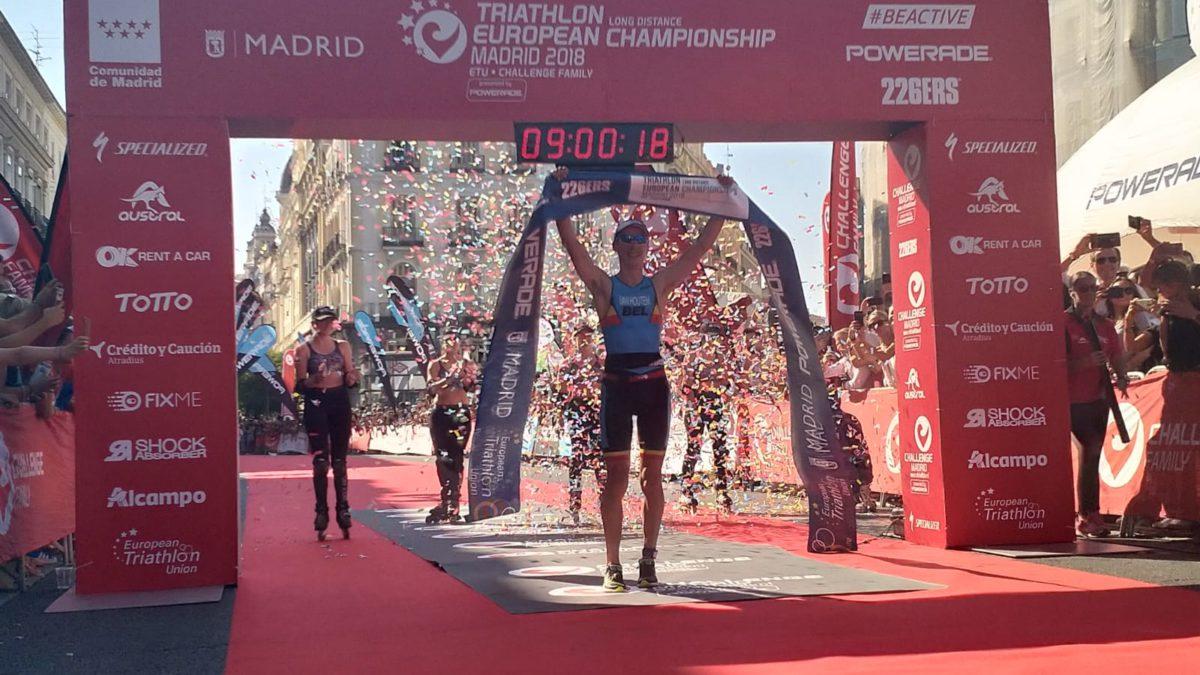 Timothy van Houtem en Laura Siddall pakken Europese titels Long Distance tijdens Challenge Madrid