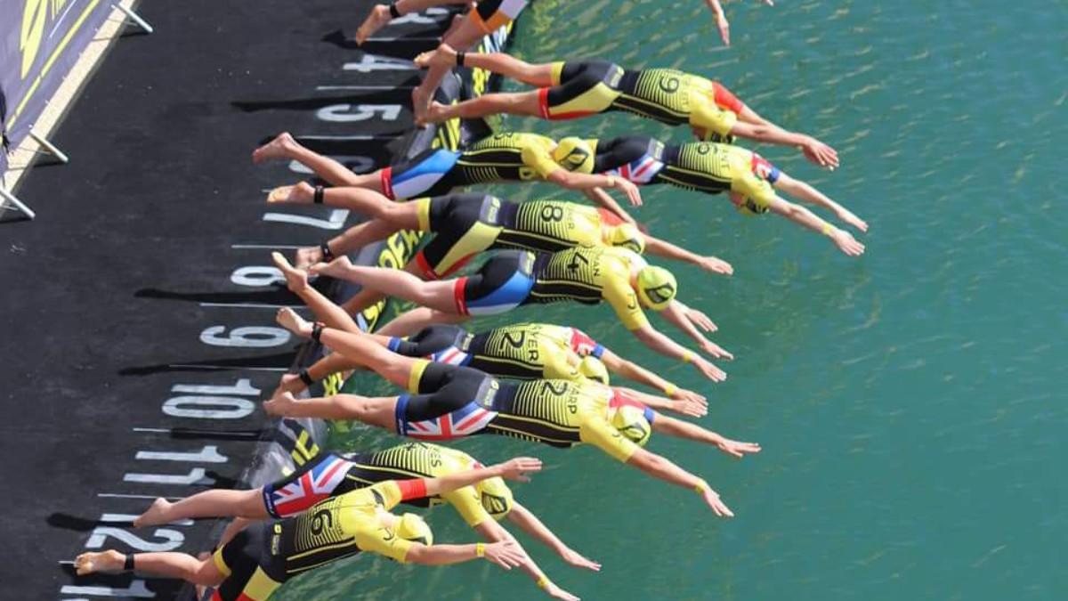 Jeugd top twintig Super League Triathlon, Rachel Klamer 8e