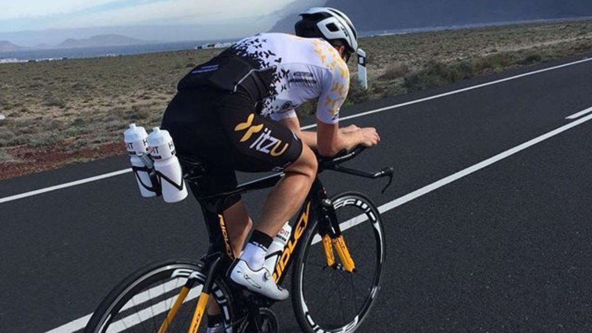 Martijn Dekker klaar voor Ironman Emilia-Romagna