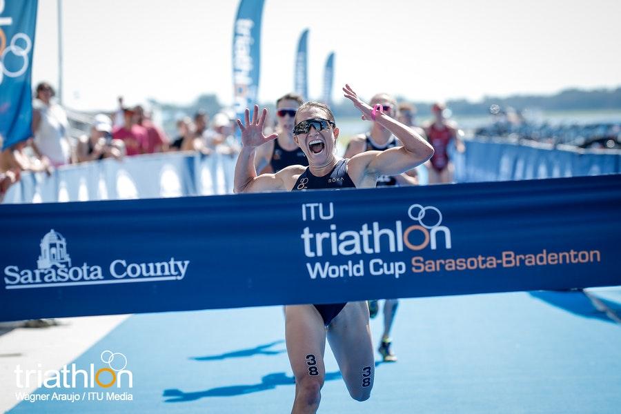 Spannende sprintfinish bij World Cup Sarasota