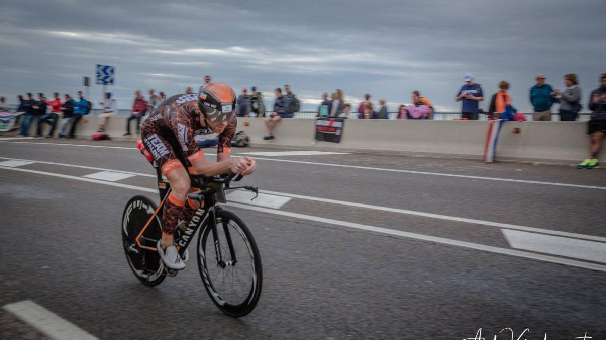 Evert Scheltinga houdt 'dubbel gevoel' over aan zevende plek Ironman Barcelona