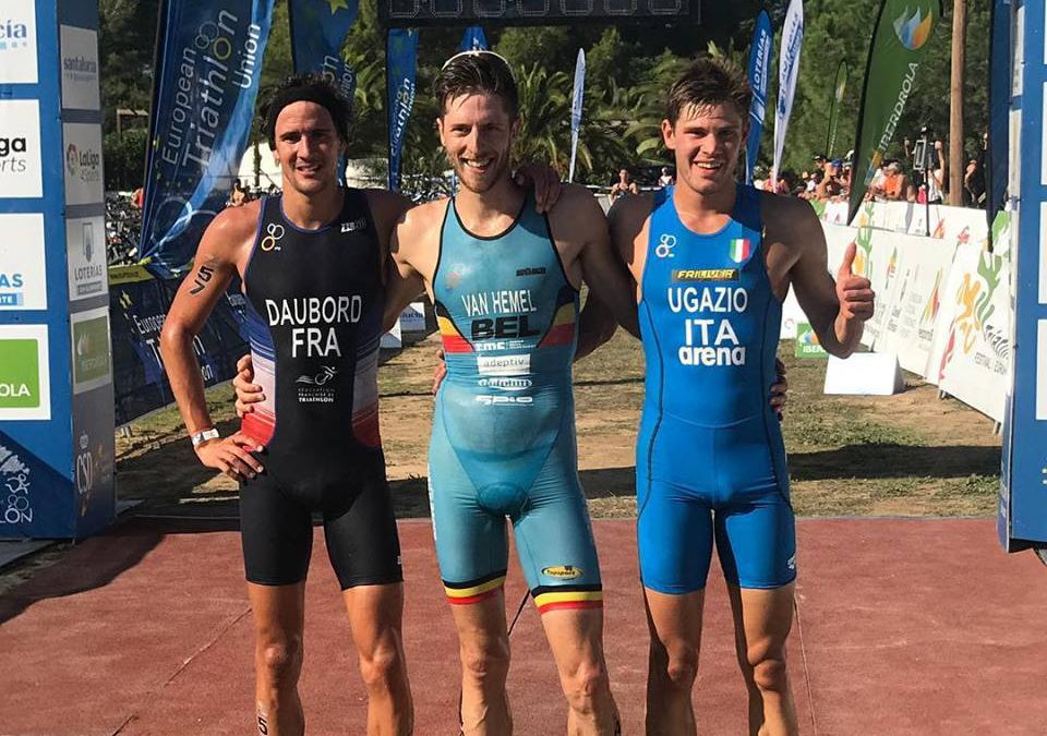 Belg Tim van Hemel pakt opnieuw Europese titel, Joep Staps 26e op EK Cross Triathlon