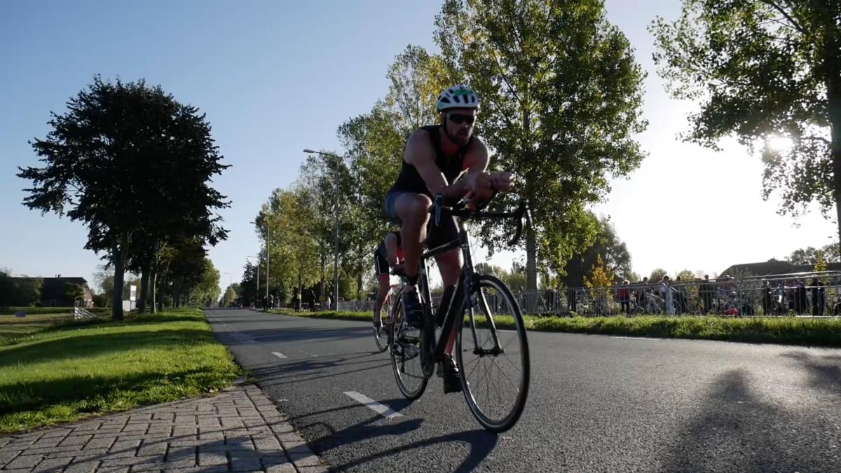 In beeld gevangen: Triathlon Bodegraven