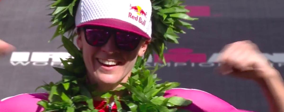Daniela Ryf oppermachtig op Hawaii, in parcoursrecord naar vierde overwinning op rij