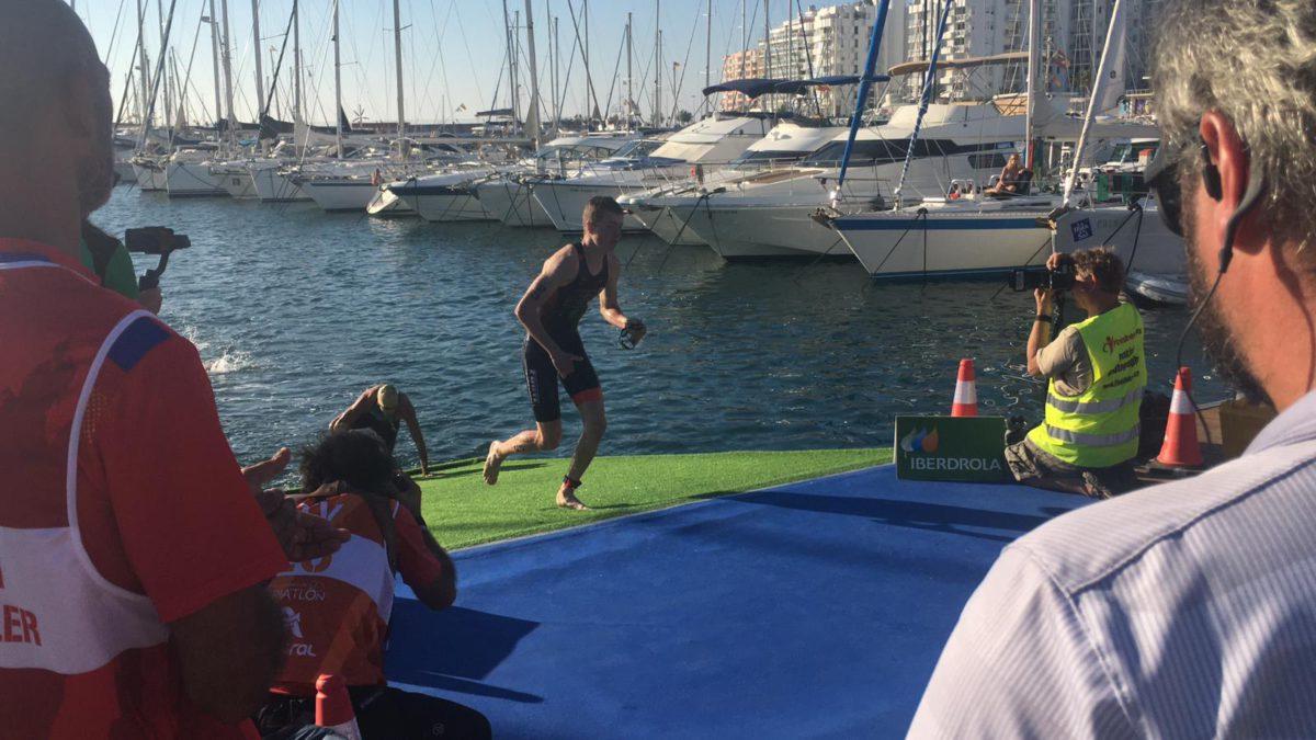 Olaf Jan Bosscher zeer tevreden met 6e plaats bij EK Aquathlon
