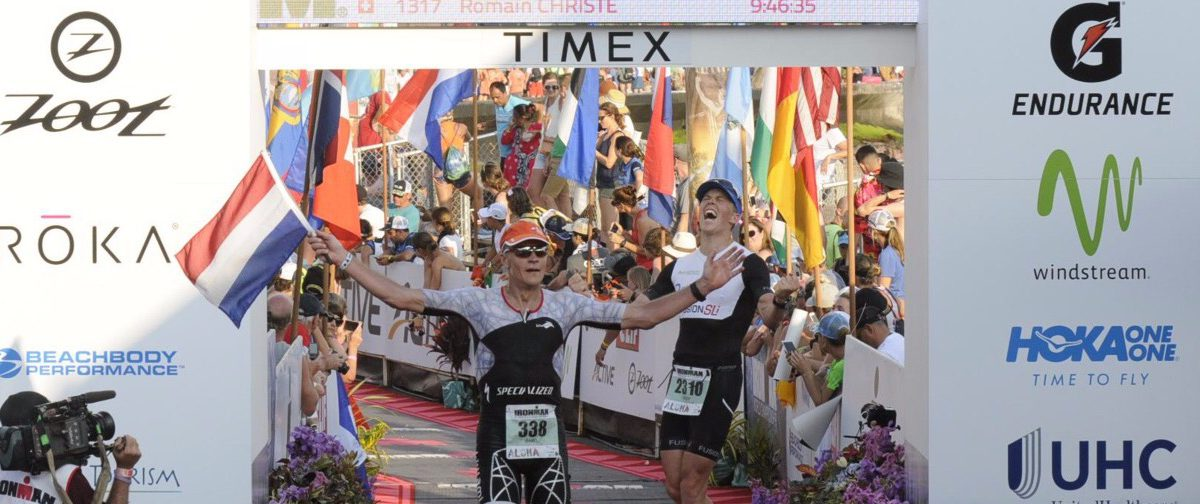 Rob Barel over 40 jaar Ironman Hawaii