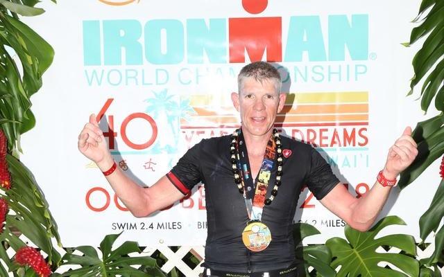 Freek van Heerebeek na Ironman Hawaii: 'Ik heb mezelf vervloekt dat ik deze hobby heb gekozen'