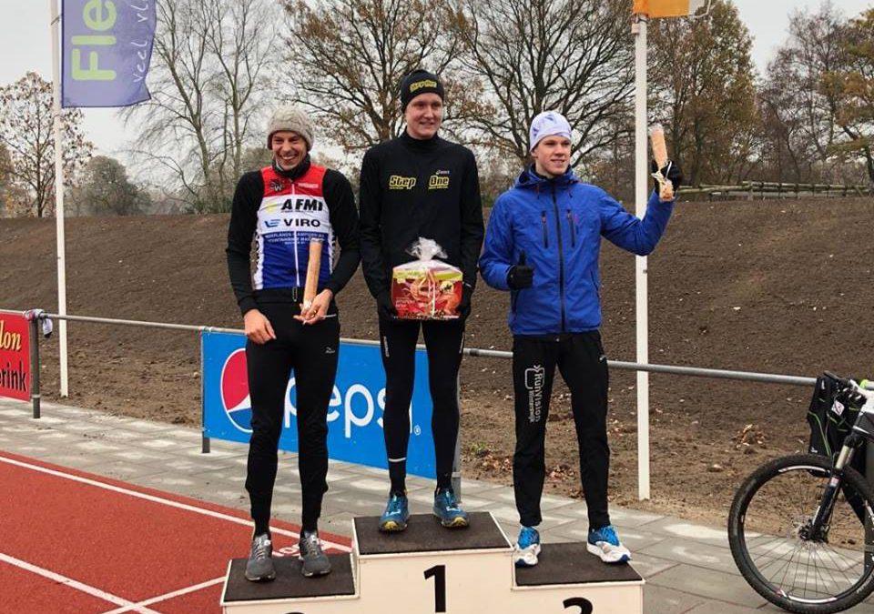 Daan Schouten toont opnieuw goede vorm met winst Run Bike Run Haaksbergen
