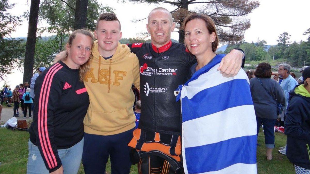 Claudia Suurmond: 'Vond triathlon aanvankelijk niks, maar reis nu overal mee naartoe'