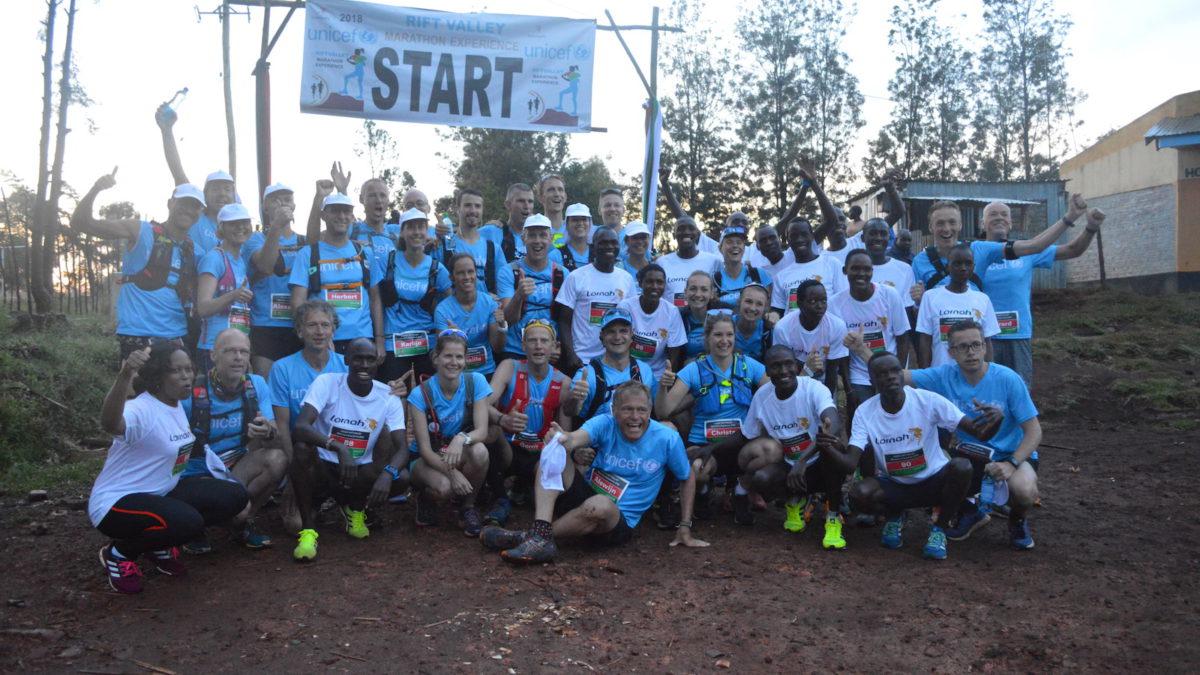 Deelnemers lovend over UNICEF Rift Valley Marathon: 'Sportbeleving om nooit te vergeten'