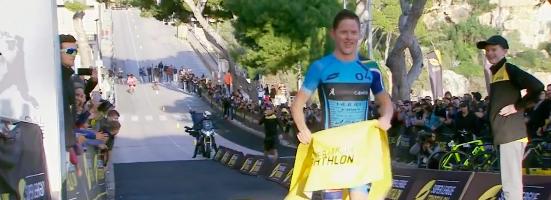 Henri Schoeman wint Triple Mix bij Super League Triathlon Mallorca