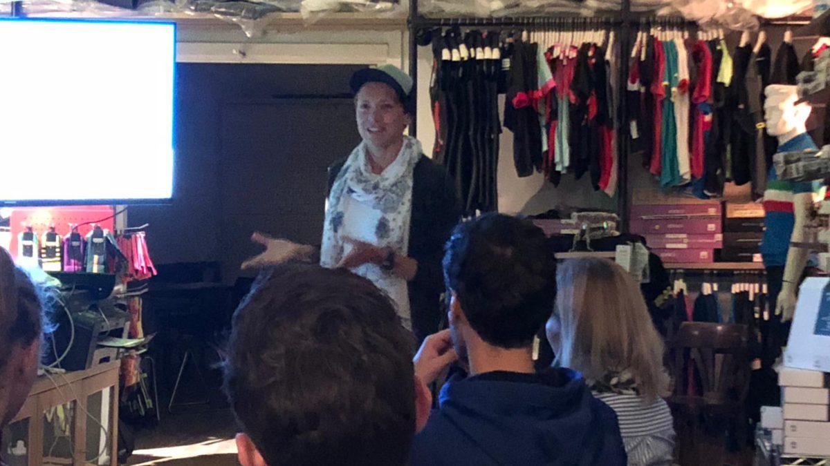Sonia Bracegirdle over Ironman Maastricht: 'Ik heb geen kano gezien'