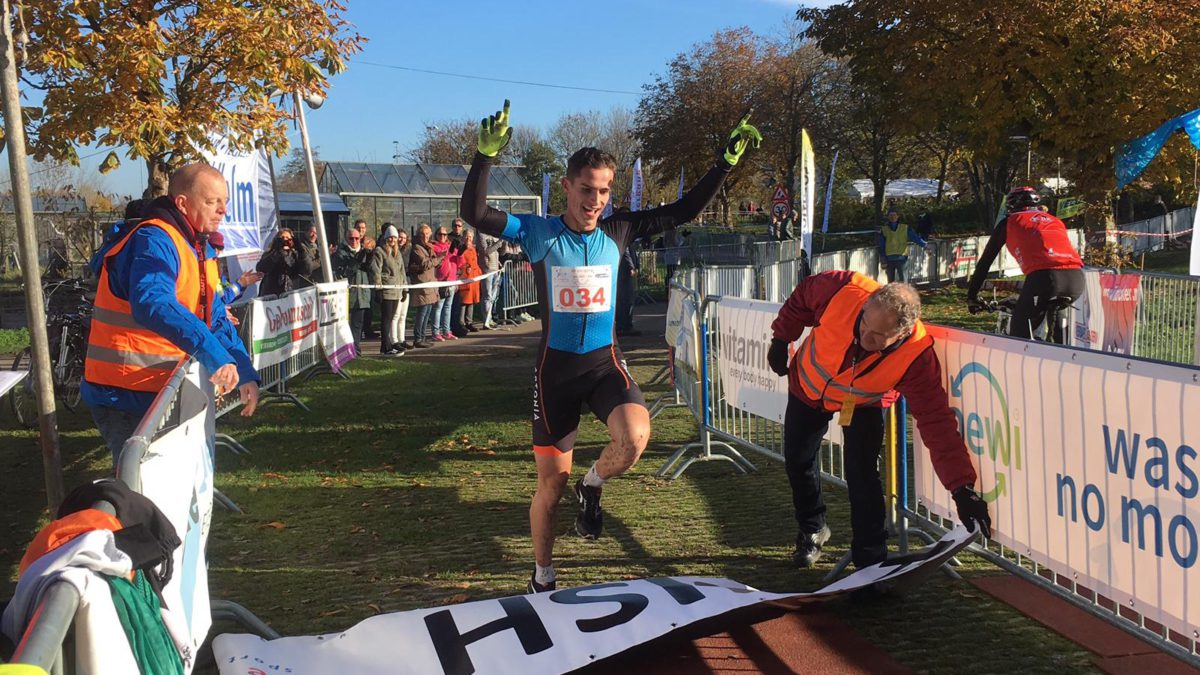 Rody Kroon en Laura Gorter winnen RunBikeRun Pijnacker [video]