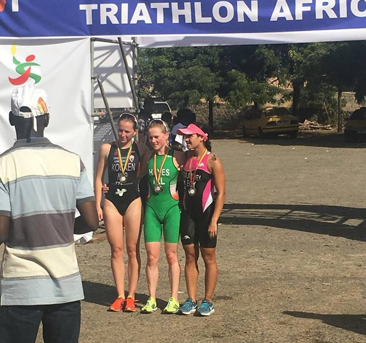 Jeanine Kocken pakt podiumplaats in Senegal