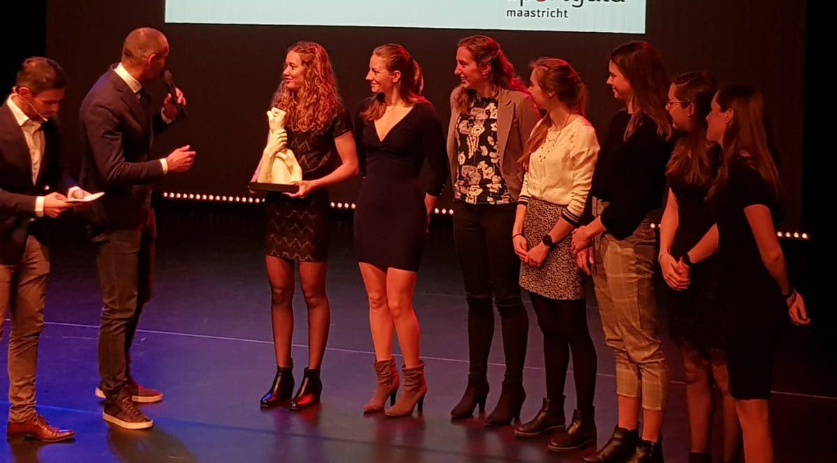 Dames landskampioen Ferro Mosae verkozen tot sportploeg van het jaar in Maastricht