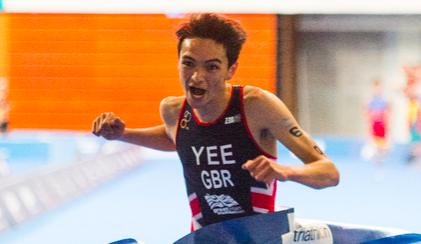 Alex Yee: vijf kilometer onder de vijftien minuten en daarmee winst eerste World Cup